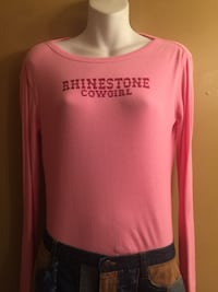 Ladies long sleeved tshirt size large Davie, 33324