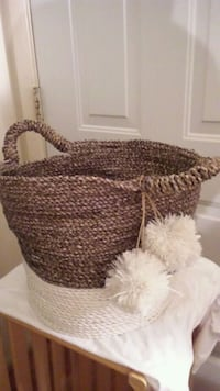 Beautiful handcrafted basket