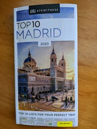 Madrid Spain top 10 guidebook with maps