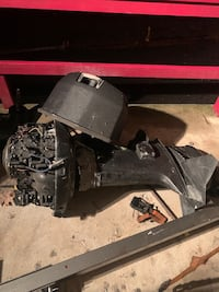 Outboard motor 135 hp for parts