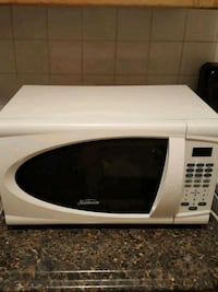 white and black microwave oven Dumont, 07628