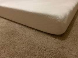 Queen Mattress with metal bed frame