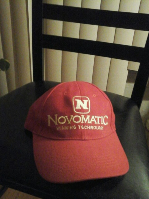 red Novomatic cap