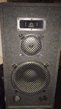 black and gray subwoofer speaker Toronto, M6G