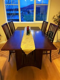 Real wood cherry Dining set