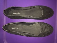 Black Sparkly Xappeal Flats - Size 9 Easley, 29640