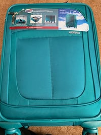 """*New* American Tourister Delite 21"""" Spinner Carry On Suitcase - Teal Santa Ana, 92704"""