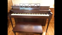 Antique Mahogany Teaching Piano Westminster, 21157