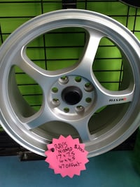 "NEW set of 17"" Rays's Nismos Aftermarket rims ONLY $300 Toronto, M1P 2B3"