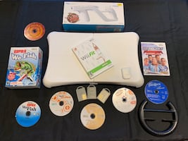 Nintendo Wii Video Games (8 games)
