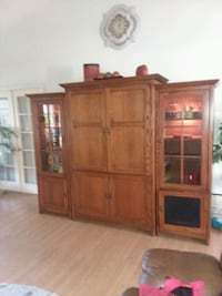3 piece Lighted Entertainment Center....Price Lowered!