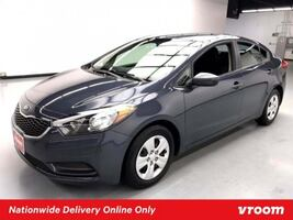 2016 Kia Forte Steel Blue Metallic sedan