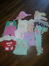 LOT of 6-9 months baby girl clothes Manassas, 20110