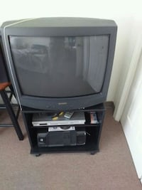 "25"" Sharp Color TV w/ Stand Hyattsville, 20783"