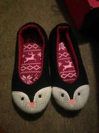 white black and red penguin house slipper Philadelphia, 19145