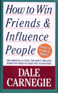 How to win friends & influence people book by Dale Carnegie