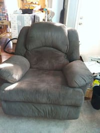 Oversized recliner.  brown corduroy Lynn Haven