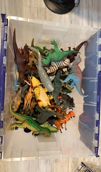 Plastic toys (not the container)