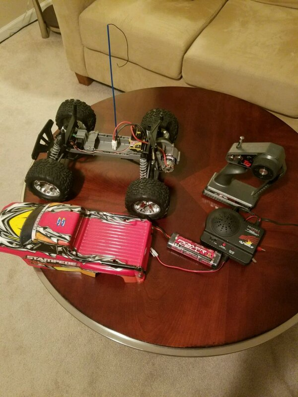 Traxxas Stampede 2wd 1/10 scale RC truck 4