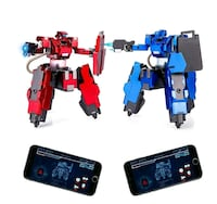 Remote Control Battle Robots, Control via App NEW ½ PRICE