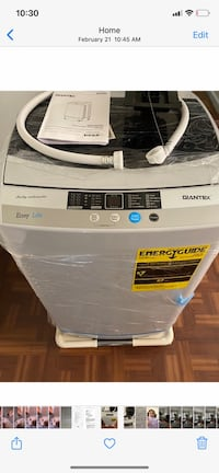New Portable Washer