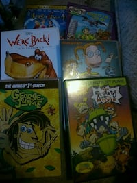 6 kids dvds all for 5 London, N5W 2Y8