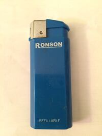 Ronson refillable lighter