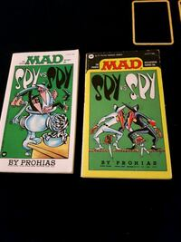 2 Mad Magazine Spy vs Spy Edmonton, T5H 1K3