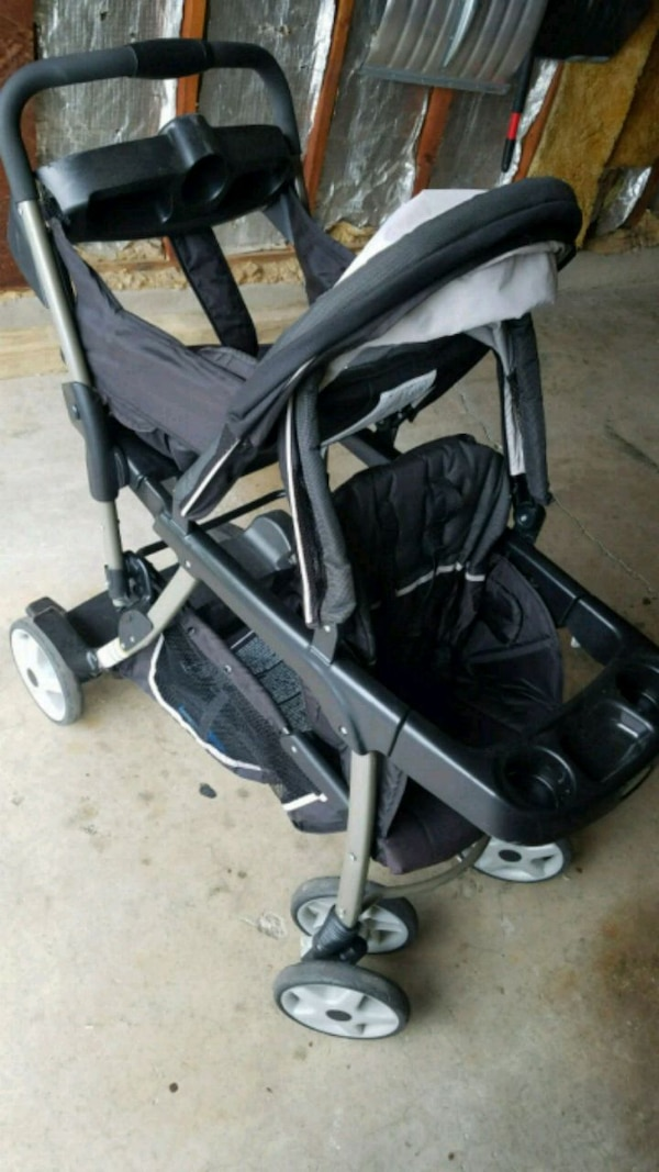 Graco Ready2Grow Click Connect LX Double Stroller