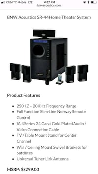 Professional Home Theatre System Forest Park, 30297
