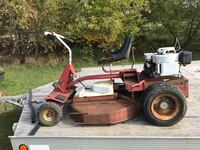 red ride on lawnmower Blue Hill, 55398