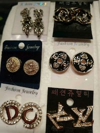 New Assorted earrings, $7 each pair  London, N6C 4W2