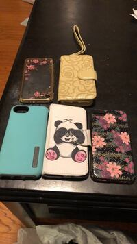 Four assorted color iphone cases for the iPhone 8 Aberdeen, 21001