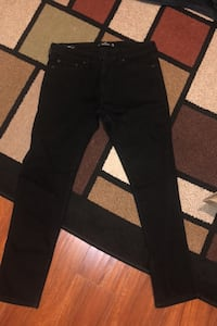 Hollister Mens 34x32 skinny jeans