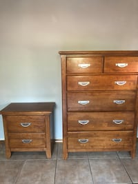 Dresser & nightstand New Castle, 81647
