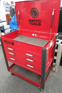 4 MATCO drawer rolling lock chest