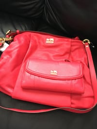 Coach leather purse and wallet Edmonton, T6G