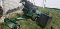 green and black zero turn mower District Heights, 20747