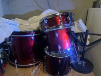 Drum Set and Congos for sale Bowie, 20716