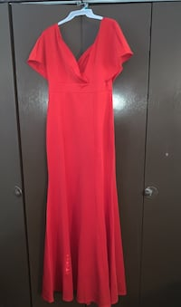 Red Fitted Gown