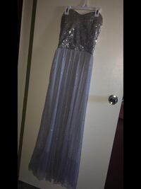 Silver sparkling dress Size - Medium only been used ounce