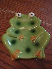 Frog spoon rest