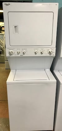 """Kenmore 27"""" stackable washer and dryer"""