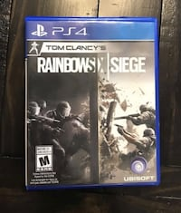 Tom Clancy Rainbow Six Siege PS4 edition  Mississauga