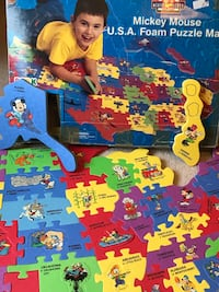 Mickey Mouse foam USA puzzle Boyds, 20841