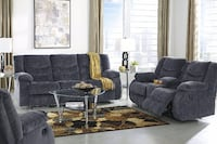 Sofa and Loveseat - Both Have Power Recliners