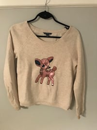Sequin deer sweater  Kelowna