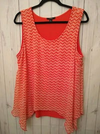 Orange/Coral Blouse SzXlrg Bakersfield, 93306