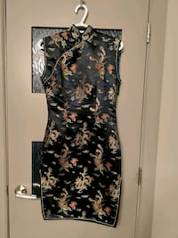 Chinese dress with side slits Calgary, T2E 0B4