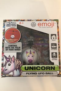 Unicorn Flying UFO Ball